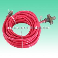 2pin garden japan retractable power multiple outlet extension cord
