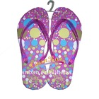 XB-3E09 hot summer beach flip flops for girls