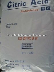 Citric Acid Monohydrate / Citric Acid Anhydrous