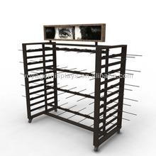 Customized metal store display rack
