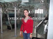 maquinaria agrícola equipos / equipos de matadero de aves de corral / máquina pollo desplumado