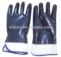 neoprene dipped gloves fully coating cotton jersey liner glove safety cuff