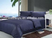 2015 hot sales hotel comforter set dark purple bedding set