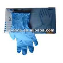 Hot 13g Nylon shell coated nitrile gloves long nitrile gloves accelerator free nitrile gloves