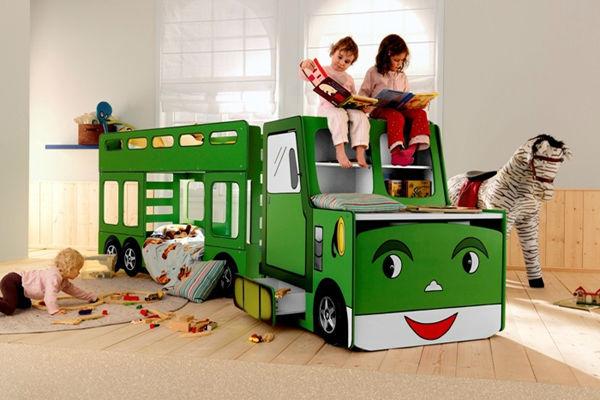 Feuerwehrauto bett kind/kinder bett mit schreibtisch 923 ...