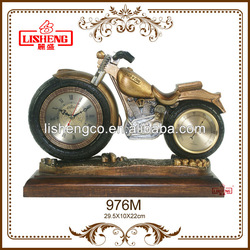 Classical polyresin antique table clock 976M