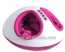 3D infrared heating airbag rolling shiatsu foot massager