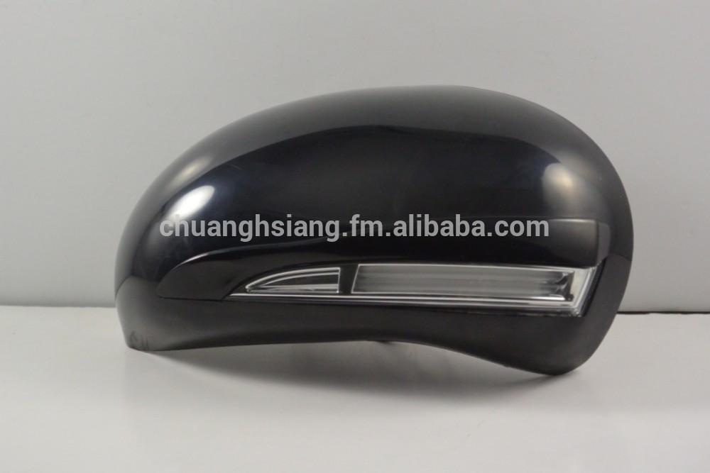 Espejo lateral del coche cubre con LED y de señal de vuelta para NISSAN modelos