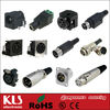 gold RCA connector plug jack socket & 3 4 5 pin XLR Connector male female & 2mm 4mm 6mm binding post PCB Panel UL CE ROHS CC