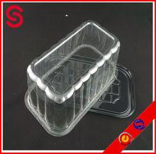 rectangle plastic Birthday Cake box