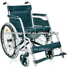 wheelchair with toilet BME4624