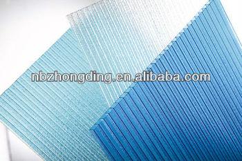 4mm hollow polycarbonate sheet/solar polycarbonate sheet