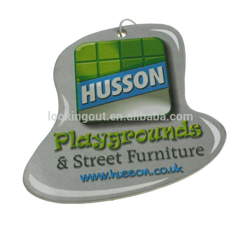 full color print custom incense air fresheners car freshener