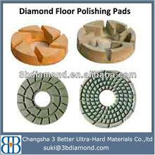 Resin diamond polishing pad/Diamond resin polishing pads/Diamond concrete wet and dry pad