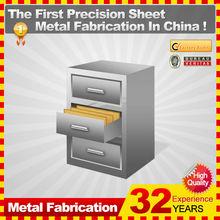 a prueba de fuego 3 vertical cajones de metal del gabinete de archivo