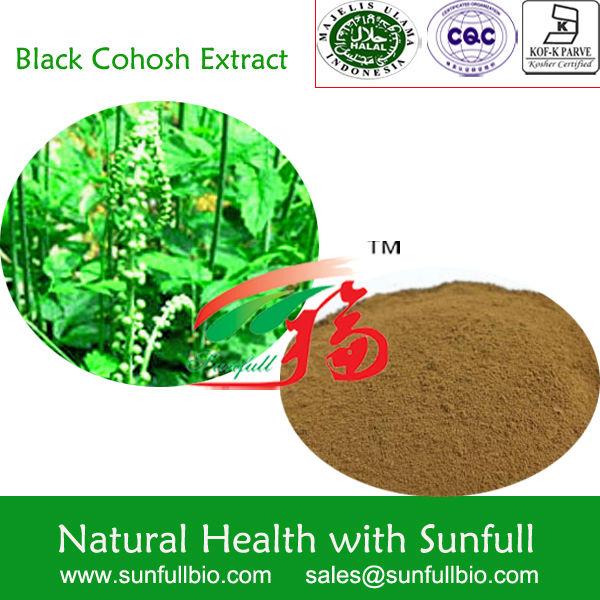 100% Pure Natural Black Cohosh P.E.