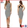 China supplier hot selling print wholesale woman clothing/backless stripe zig zag bulk wholesale maxi dress