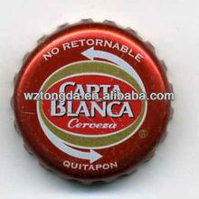 custom printed tinplate beer bottle caps(WZ5277)