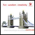 3d puzzle 3d puzzles/rompecabezas molde del puente de la torre( reino unido) molde