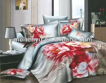 china 3d printing duvet cover 2013 new 3d bedding sets king