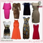 Fashion alibaba express dresses trendy latest dress designs for ladies/women