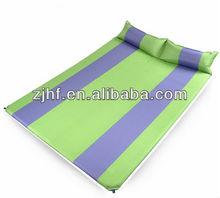 self inflating connecting mattress pad