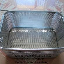 perforated metal filter basket/perforated metal basket