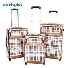 Trolley PU leather luggage case luggage cosmetic case