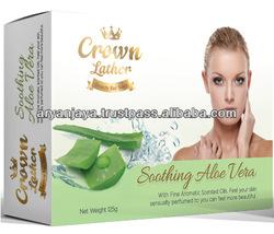 Crown Lather Bar Soap 125gr