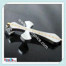 Beadsnice ID 19133 Stainless Steel Pendant Bail 36.5x53x3mm 2012 wholesale stainless steel cross pendants