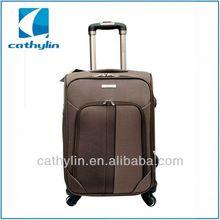 Popular design cheap nylon luggage ormi luggage factory