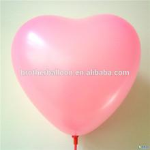 بالون تعزيز اللاتكس 2014 جديد آلة الطباعة، شكل بالون القلب