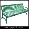 6' rustic cast iron garden bench with metal park bench