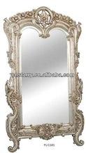 sunshining PU mirror frame,polished PU mirror frame, elegant classic PU mirror frame