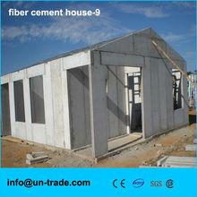 Fiber cement prefab house