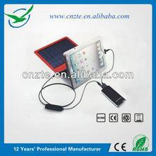 Portable solar bank power, portable solar battery charger bag
