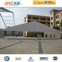30x40m luxurious aluminum frame wedding tent with glass door