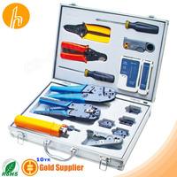 Network Tool Kit Set of crimper punch tool stripper HM-TK4015