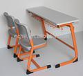 Atacado mobiliário escolar e cadeira / do estudante e cadeira / Double mobiliário de sala de aula