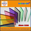 clear 0.38 mm pvb film for tempered laminated glass with competitive price
