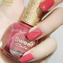 Fresh color red nail polish natural nail polish China Professional Nail Polish Fatory