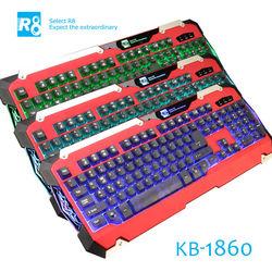 R8 Latest Backlit Mechanical Keyboard,LED Gaming Keyboard