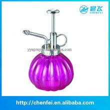 glass shallow flower pots 250ml
