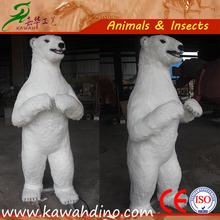 Zoo Animal Decorations Life Size Polar Bear Statue