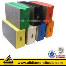 Diamond Electroplated Resin Abrasive Hand Polishing Pad for Granite