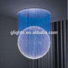 Classical design fiber optic ball led lights