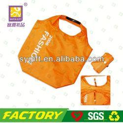 Foldable recycle nylon golf shoe bag
