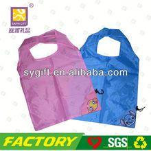 Foldable recycle nylon golf gun bag