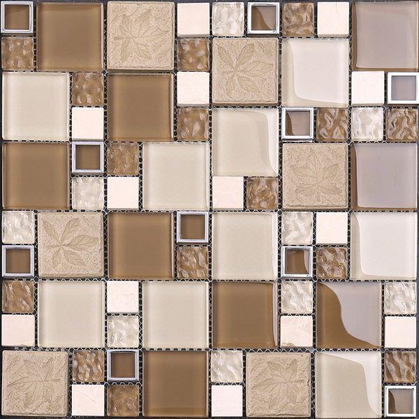 Glass ceramic tile