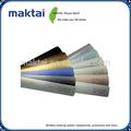 cortinas de janela veneziana componentes de alto perfil personalizado cor slat de alumínio